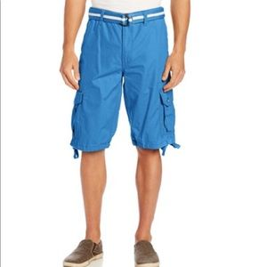 NWT South Pole Men's Belted Ripstop Cargo Short